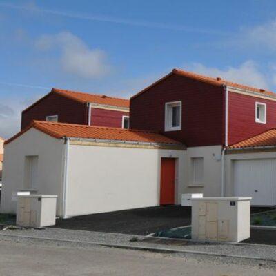Les Sencives, 7 logements locatifs HLM - Entrées