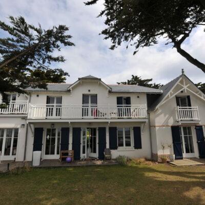 rénovation & surélévation d'une villa de caractère Le Croisic