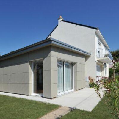 Extension de maison individuelle à Saint-Nazaire - Extérieure